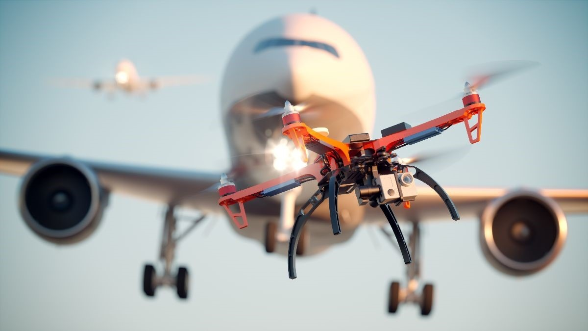 Drone Threat to Airport